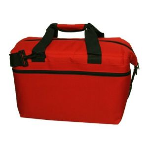 American Outdoors 24 Pack Soft Sided Cooler (Red)