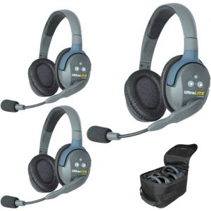 Eartec UltraLITE UL3D 3-Way System