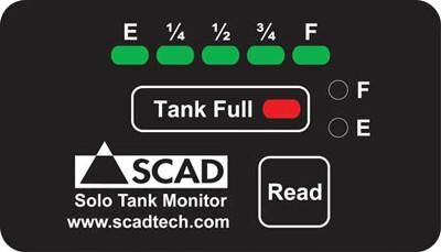SCAD Solo Tank Monitor/Display