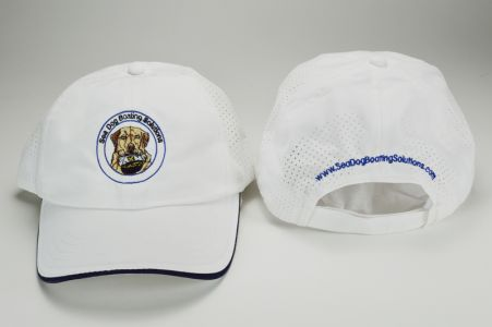 Sea Dog Boating Solutions logo baseball cap hat
