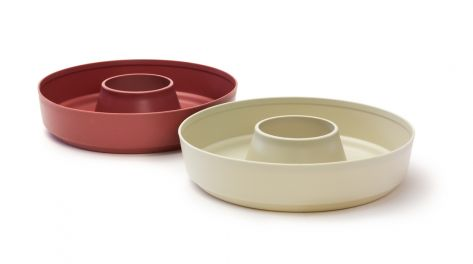 Omnia Stove Top Oven Silicone DUO Liners side-by-side