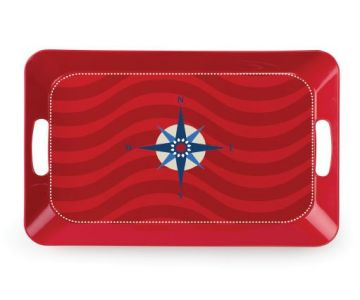 Carina Serving Tray (Compass Rose)-1