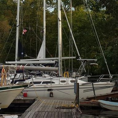 2017 Trip with Ken and Donna - Hudson River Catskill, NY Hop-O-Nose Marina -
