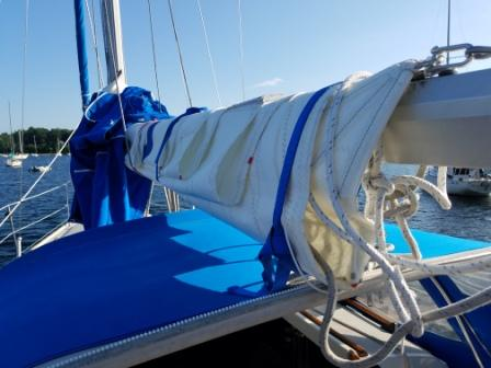 Mainsail Leech Port Side