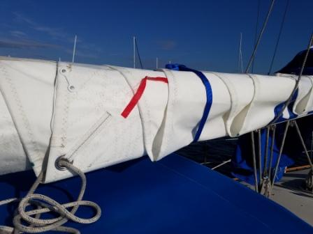 Mainsail Leech Starboard Side