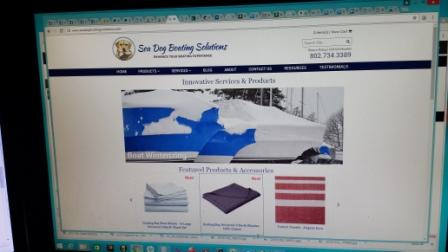 Sea Dog Boating Solutions new website