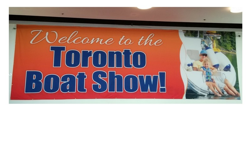 2018 Toronto International Boat Show - looking for new products