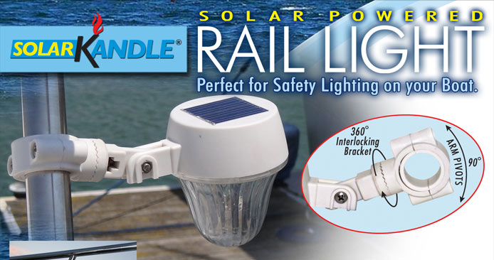 Solar Kandle Rail Light